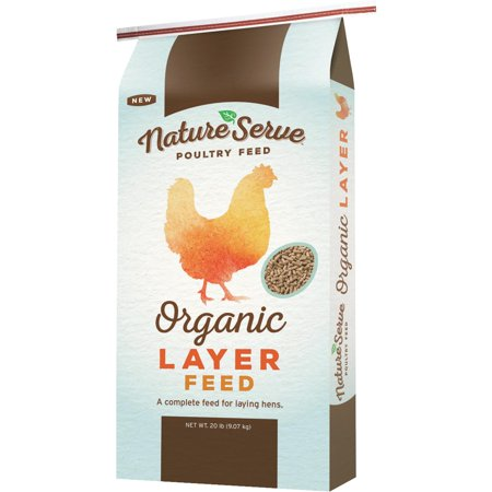Natureserve Organic Layer Pellet Chicken Feed Walmart