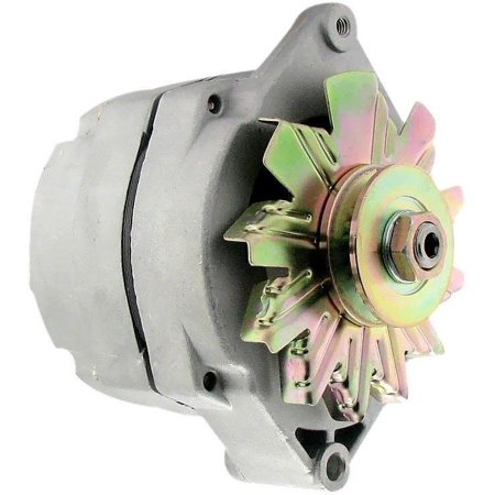 NEW SBC-BBC ONE WIRE 1-WIRE ALTERNATOR GM DELCO 10SI LOW TURN ON SPEED 120 AMP!
