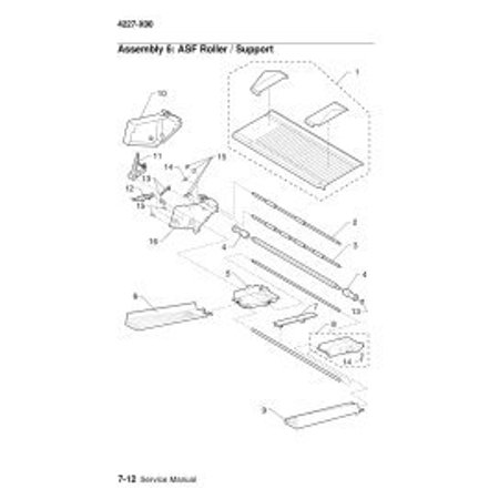 LEXMARK 11A6252 SECOND TRACTOR / FRAME OPTION, 4227-200