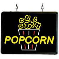 Ultra-Bright Popcorn Sign