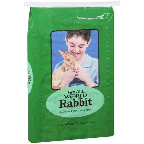 Small World Complete Rabbit Feed, 25 lb