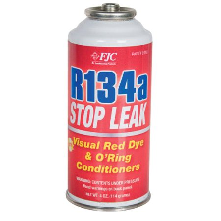 Fjc Inc. 9140 R134a Stop Leak W/red Dye