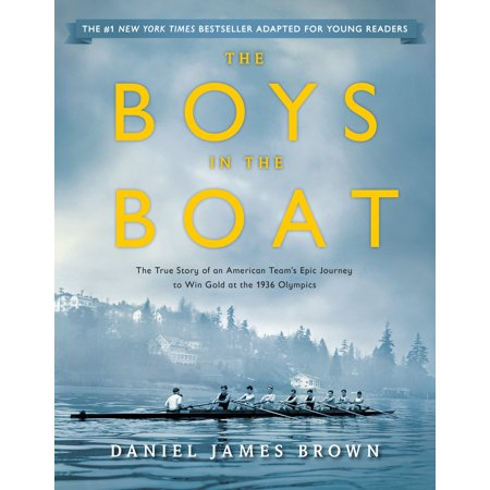 The Boys in the Boat (Young Readers Adaptation): The True Story of an American Team's Epic Journey to Win Gold at the 1936 Olympics - Halloween Story For Young Learners