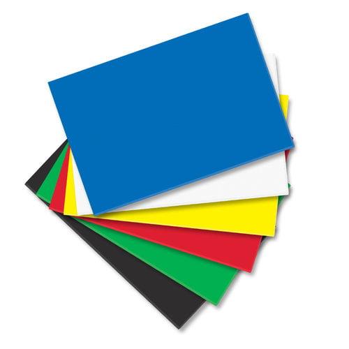 Foam Sheets, Basic Colors, 12-Pack