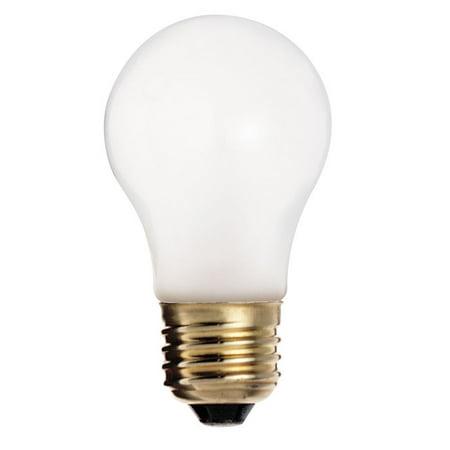 Satco S3740 60W 130V A15 Frosted E26 Medium Base Incandescent bulb 130v A15 E26 Medium Base