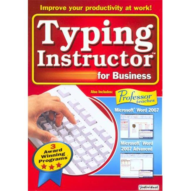 Individual Software 86850 Typing Instructor for Business 2. 0