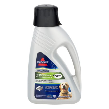 BISSELL Advanced Professional Pet Urine Eliminator with Oxy, 50 (Best Dog Carpet Cleaner)