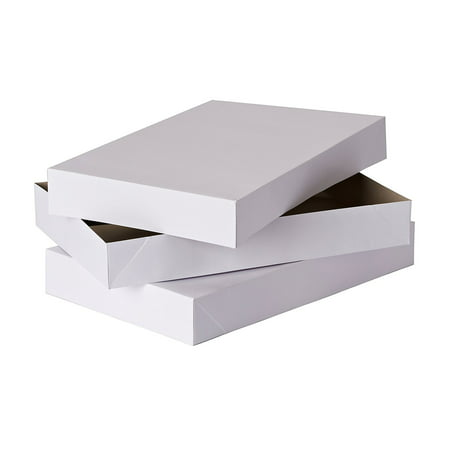 Greetings Box - American Greetings Large White Robe Gift Boxes, 2ct