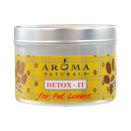 Detoxit Aromatherapy 2.5X1.75 Inch Soy/Beeswax Blend Aromatherapy Candle For Pet -