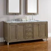James Martin Chicago 72 in. Double Bathroom Vanity