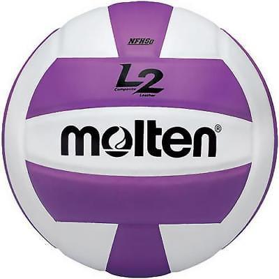 Molten IVU L2 NFHS Women's Volleyball, Purple