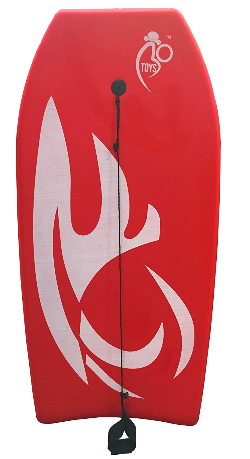 Bo-Toys Body Board Lightweight with EPS Core ( Red , 33 inch ) ) by