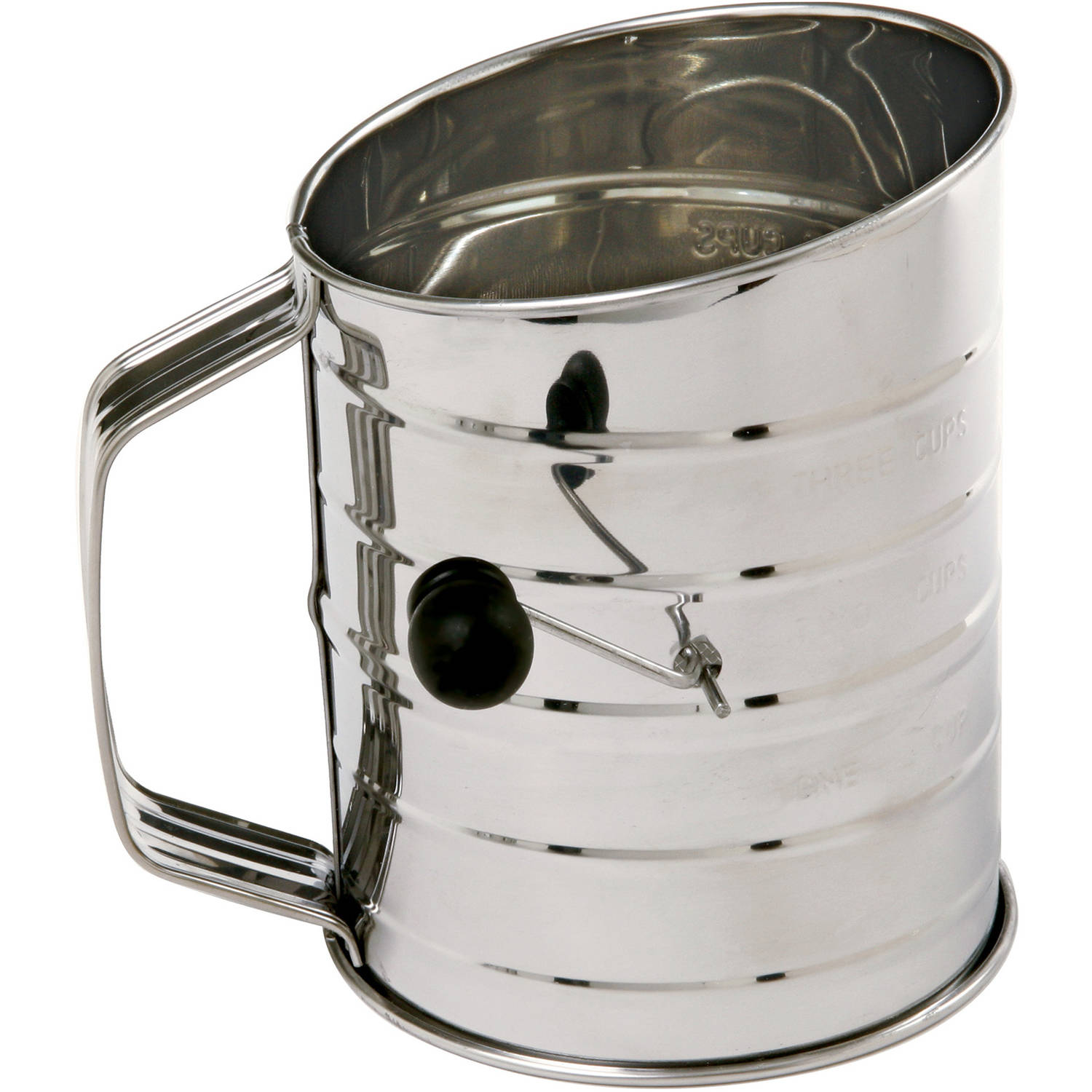 Norpro #136 3-Cup Stainless Steel Flour Sifter by Norpro