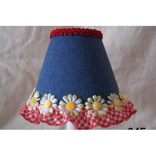 Silly Bear Lighting Picnic Play 11'' Fabric Empire Lamp Shade