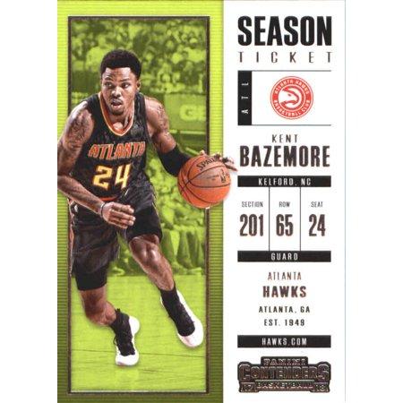 2017-18 Panini Contenders Season Ticket #79 Kent Bazemore Atlanta Hawks Basketball Card](Atlanta Halloween Ball 2017)