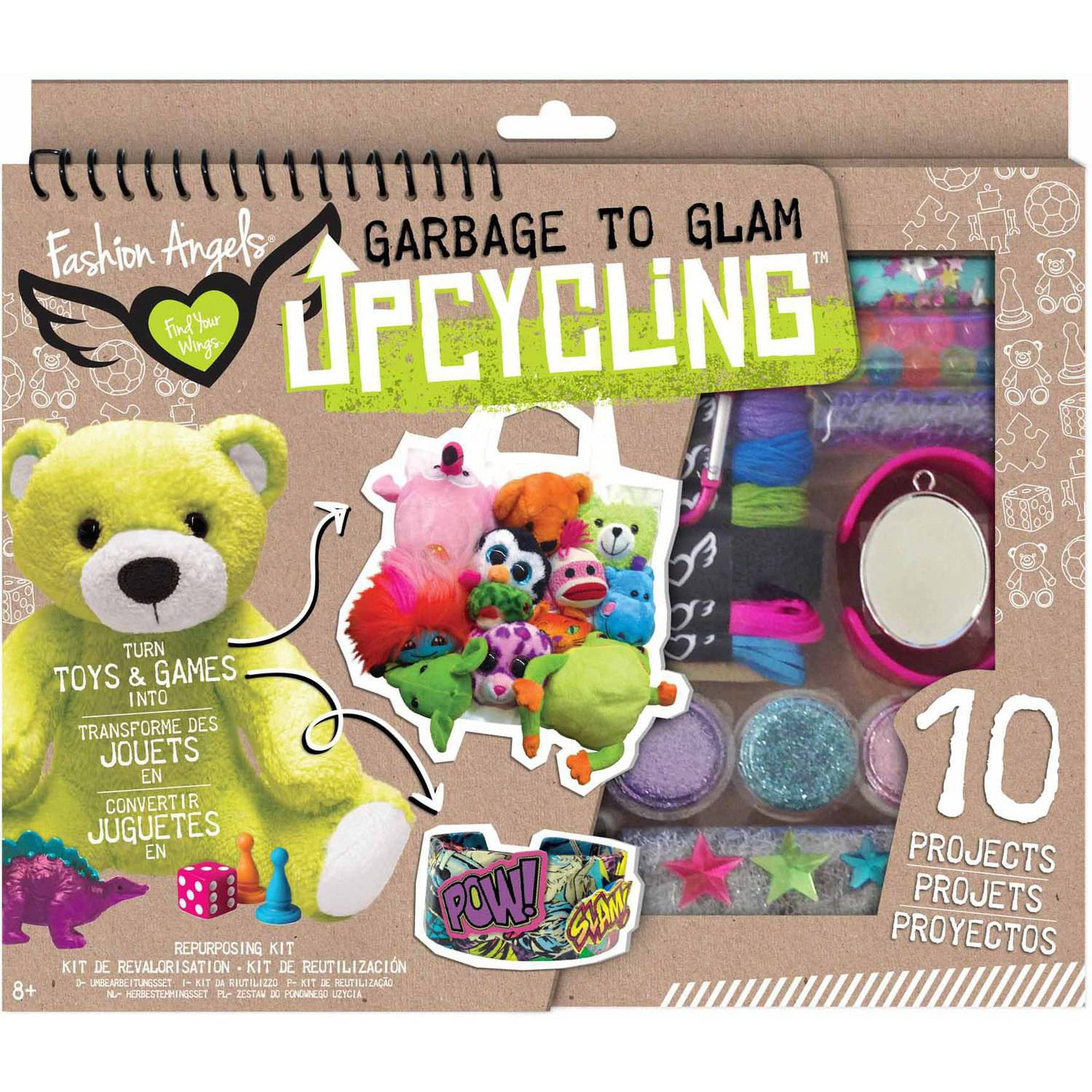 Fashion Angels Upcycling Toys and Games Kit
