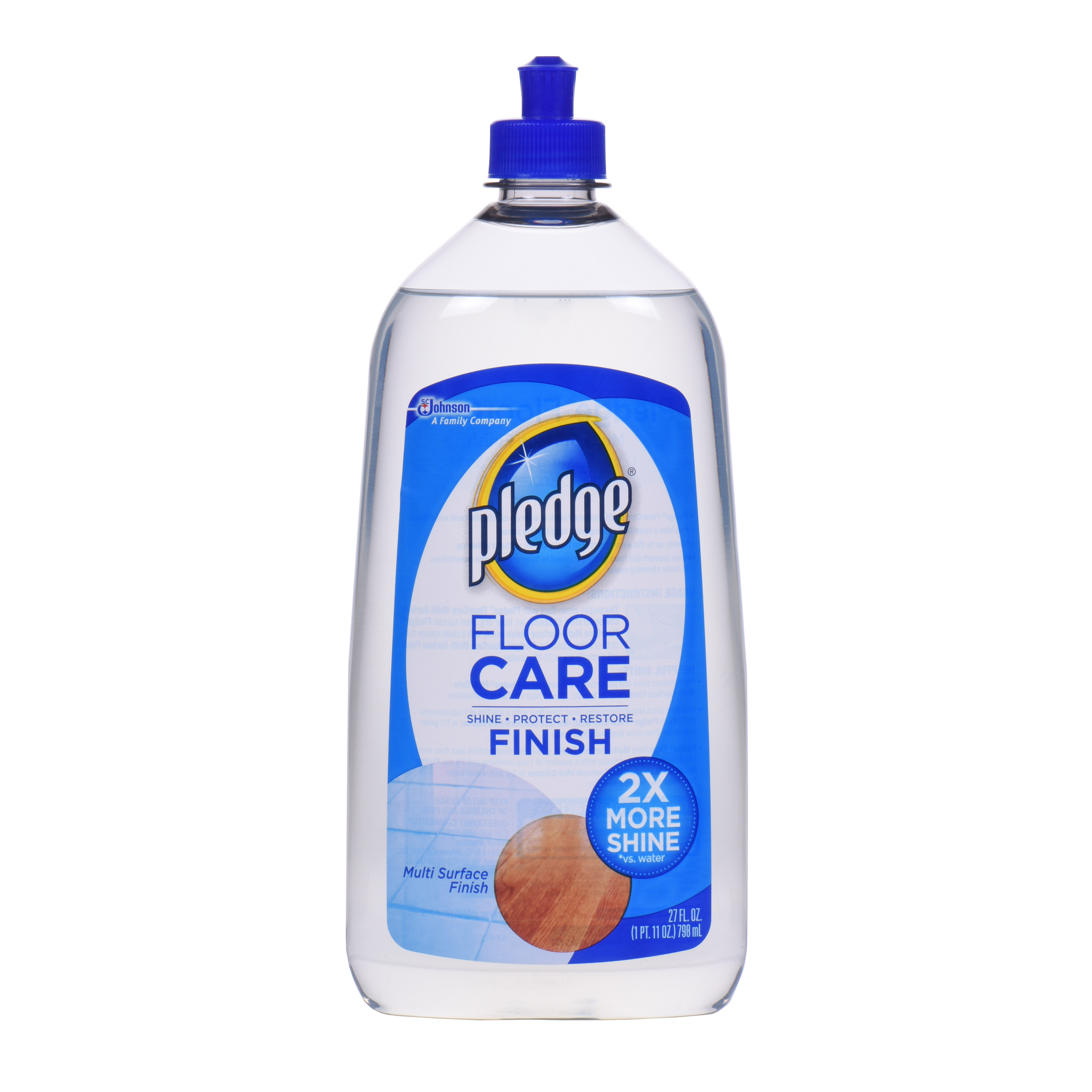 pledge floor care pledge with future shine floor finish 27oz walmart 31415
