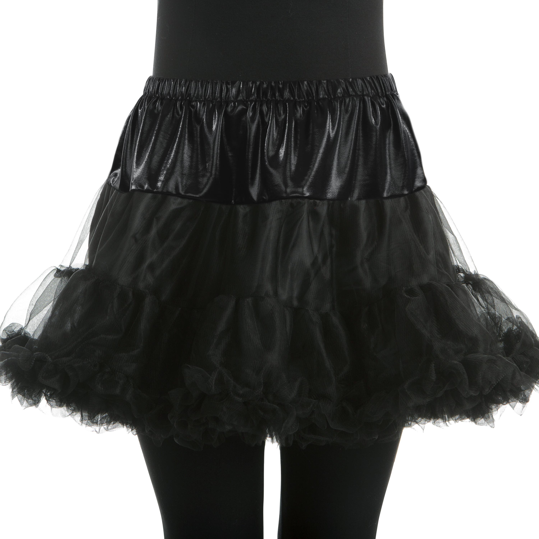 Woman Black Petticoat Small/Medium Halloween Dress Up / Costume Accessory