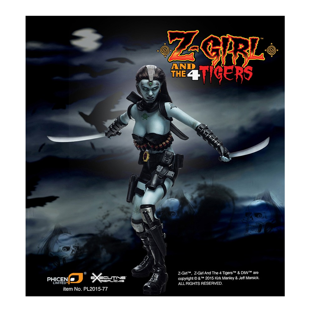 Z-Girl Collectible Action Figure