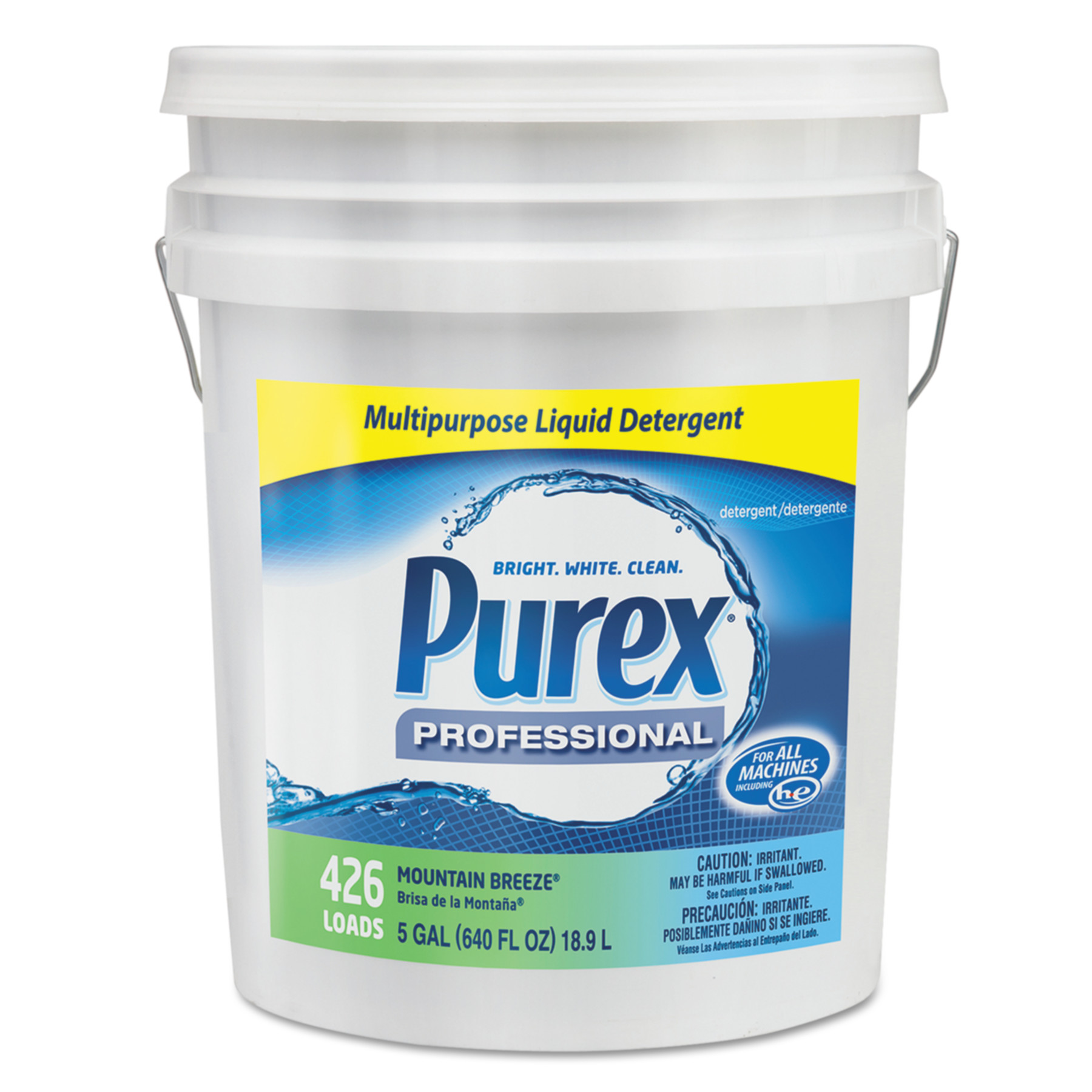 Purex Concentrate Liquid Laundry Detergent, Mountain Breeze, 5 gal. Pail