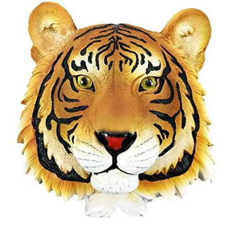 - Ebros Mini Orange Bengal Tiger Head Wall Decor Plaque 7.5