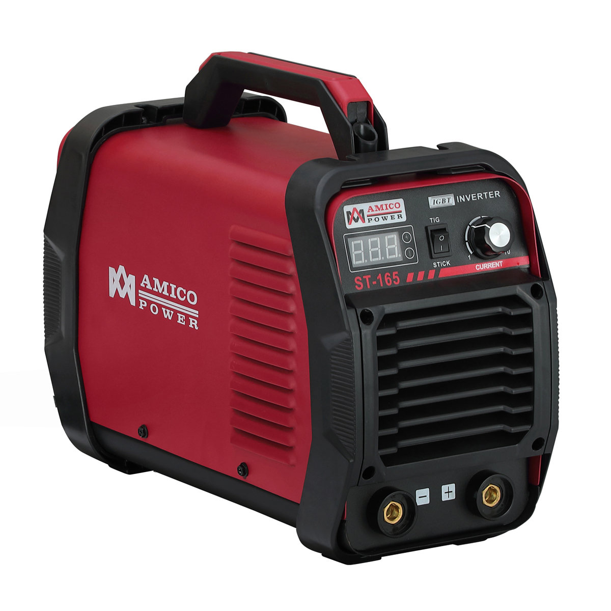 ST-165, 165 Amp Stick Arc with Lift-TIG Welder 115 & 230V Dual Voltage IGBT Inverter Welding