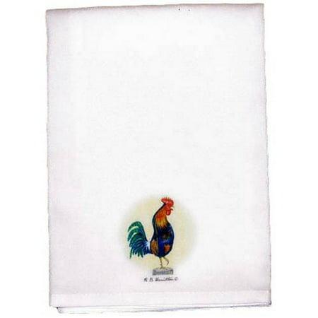 Fleur De Lis Living Upton Rooster Hand Towel Set Of 2 Walmartcom