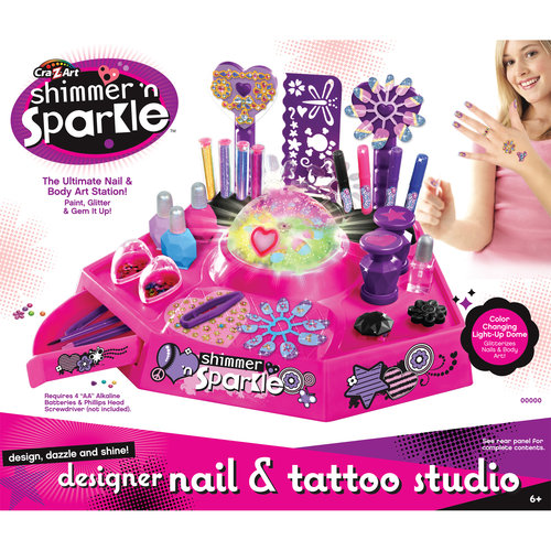 Cra Z Art Designer Nail Amp Tattoo Studio Walmart Com