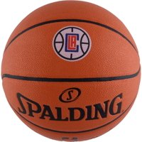 LA Clippers Spalding Official Size Logo Basketball