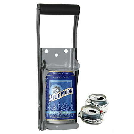 THE EASY  CAN CRUSHER - Heavy Duty 16oz Pull Aluminum Soda Beer Recycling