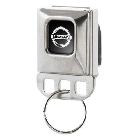 Nissan Large Seatbelt Buckle Key Chain