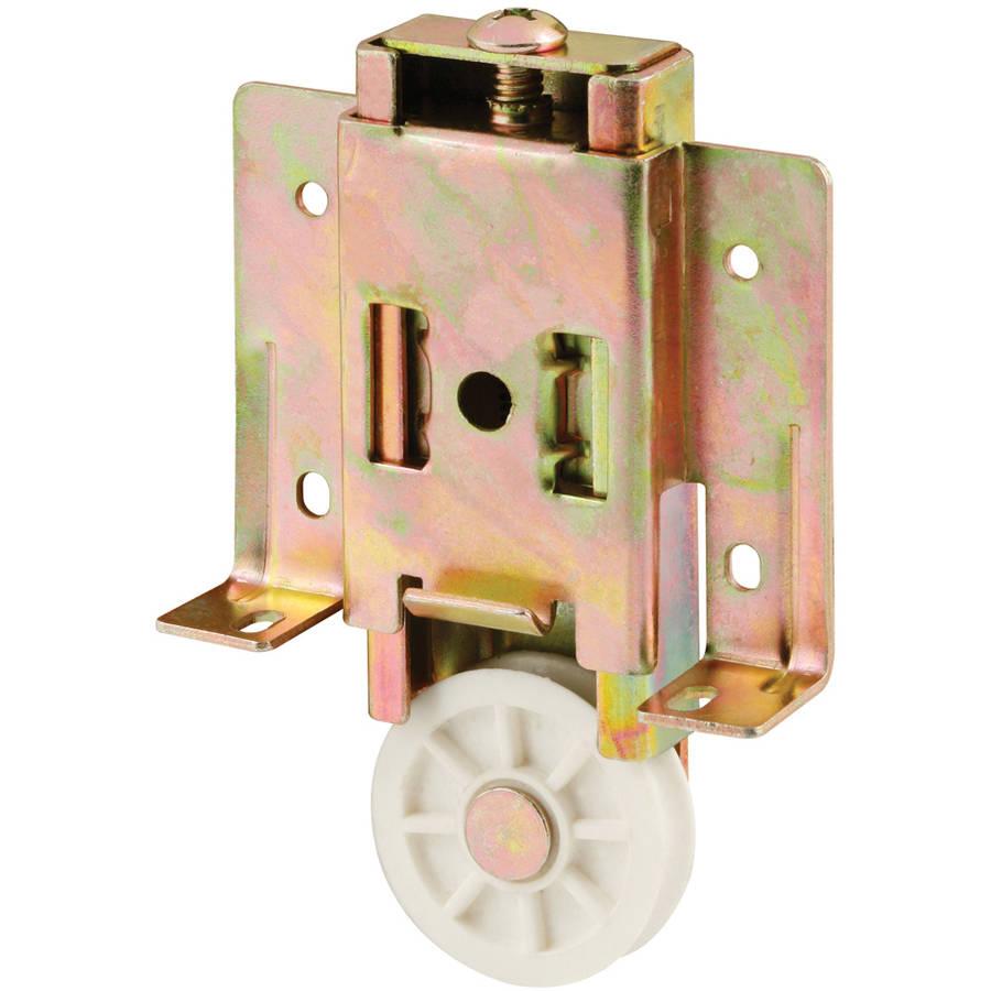 "Prime Line N6817 1-1/2"" Plastic Concave Mirror Door Roller Assembly"