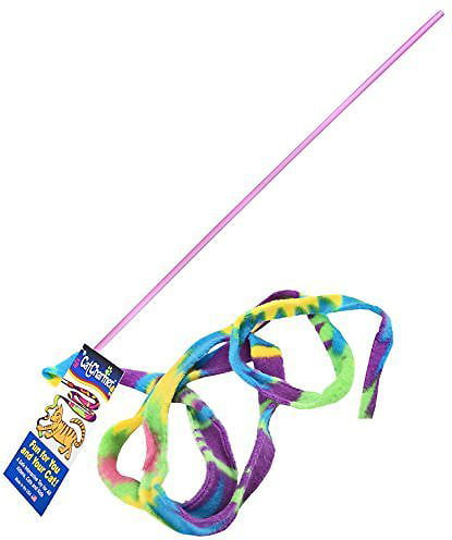 Cat Dancer Cat Charmer Teaser Cat Toy, Multicolor by Cat Dancer Products, Inc.