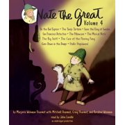 Nate the Great Collected Stories: Volume 4 : Owl Express; Tardy Tortoise; King of Sweden; San Francisco Detective; Pillowcase ; Musical Note; Big Sniff; and Me; Goes Down in the Dumps; Stalks Stupidweed