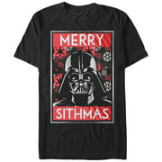 4e94d745a547a Star Wars Men s Christmas Sithmas Darth Vader T-Shirt