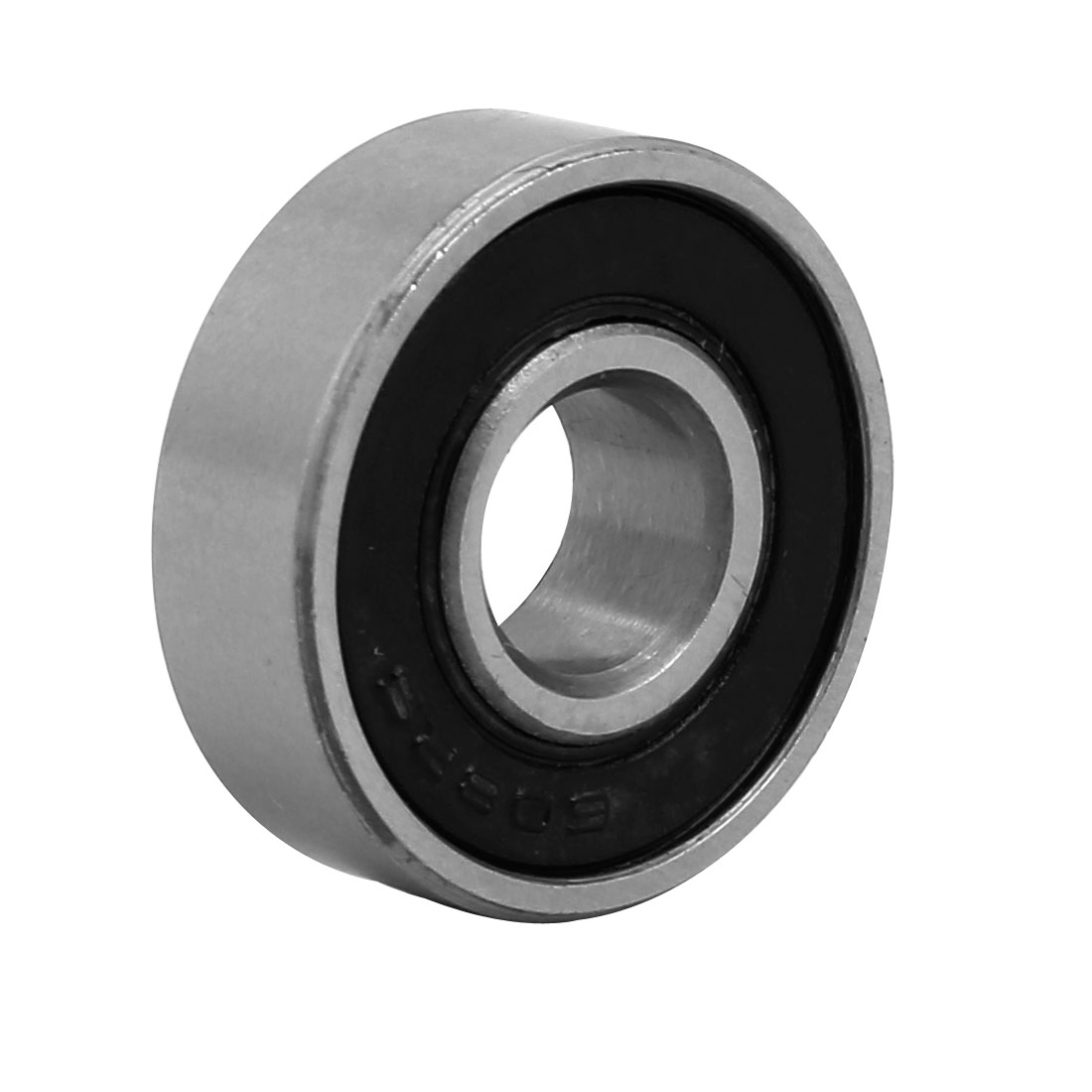 22mmx8mm Stainless Steel Double Sealed Deep Groove Ball Bearing Silver Tone 3pcs - image 3 of 4
