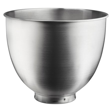 KitchenAid® 3.5 Quart Brushed Stainless Steel Bowl (KSM35SSB)