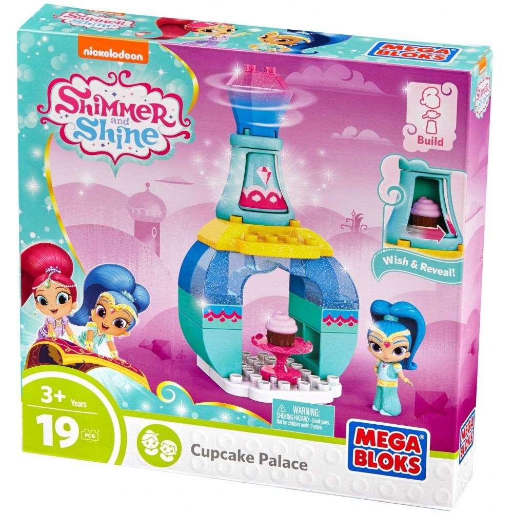 Mega Bloks Nickelodeon Shimmer And Shine Cupcake Palace