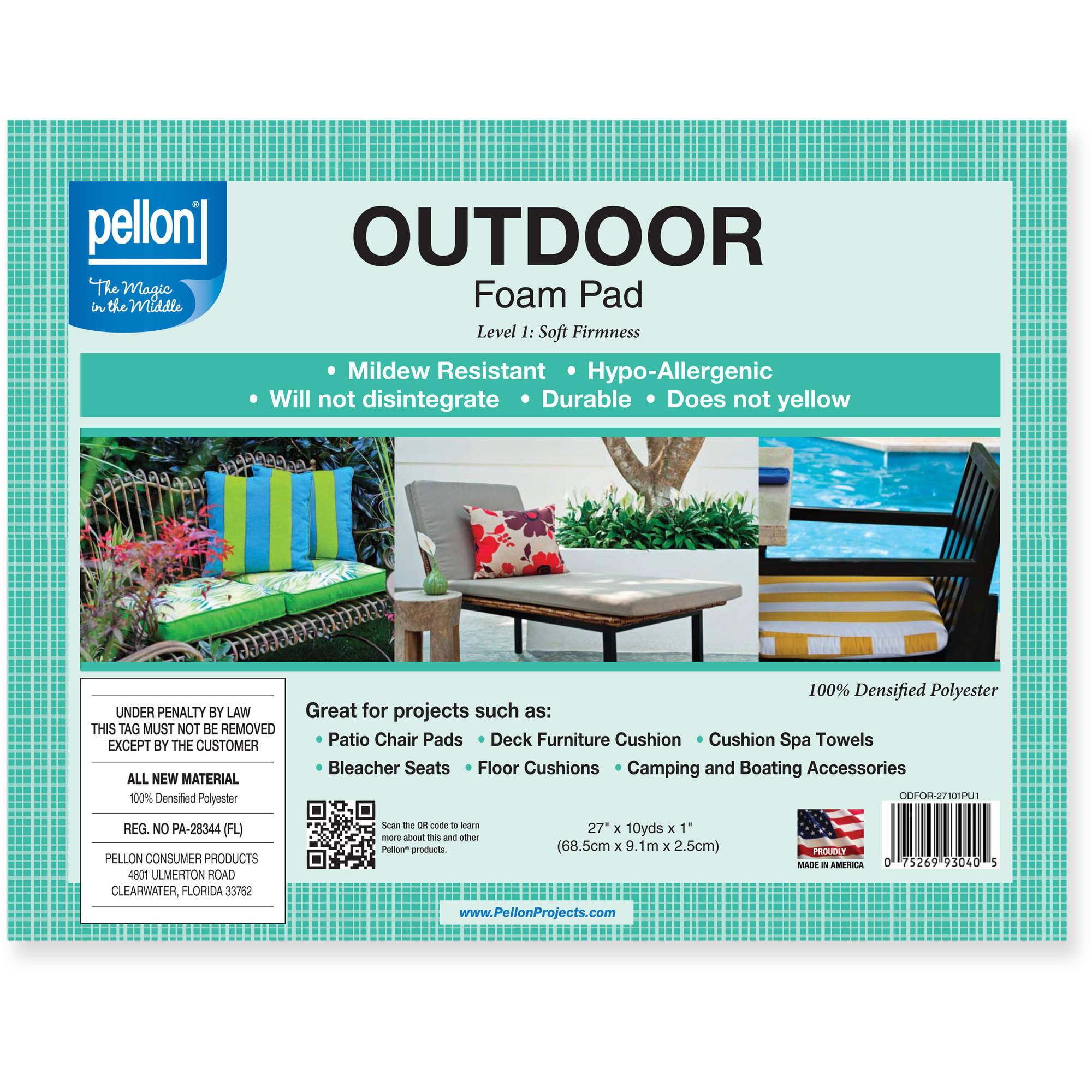 Pellon Outdoor Foam Roll Densified Polyester Walmartcom