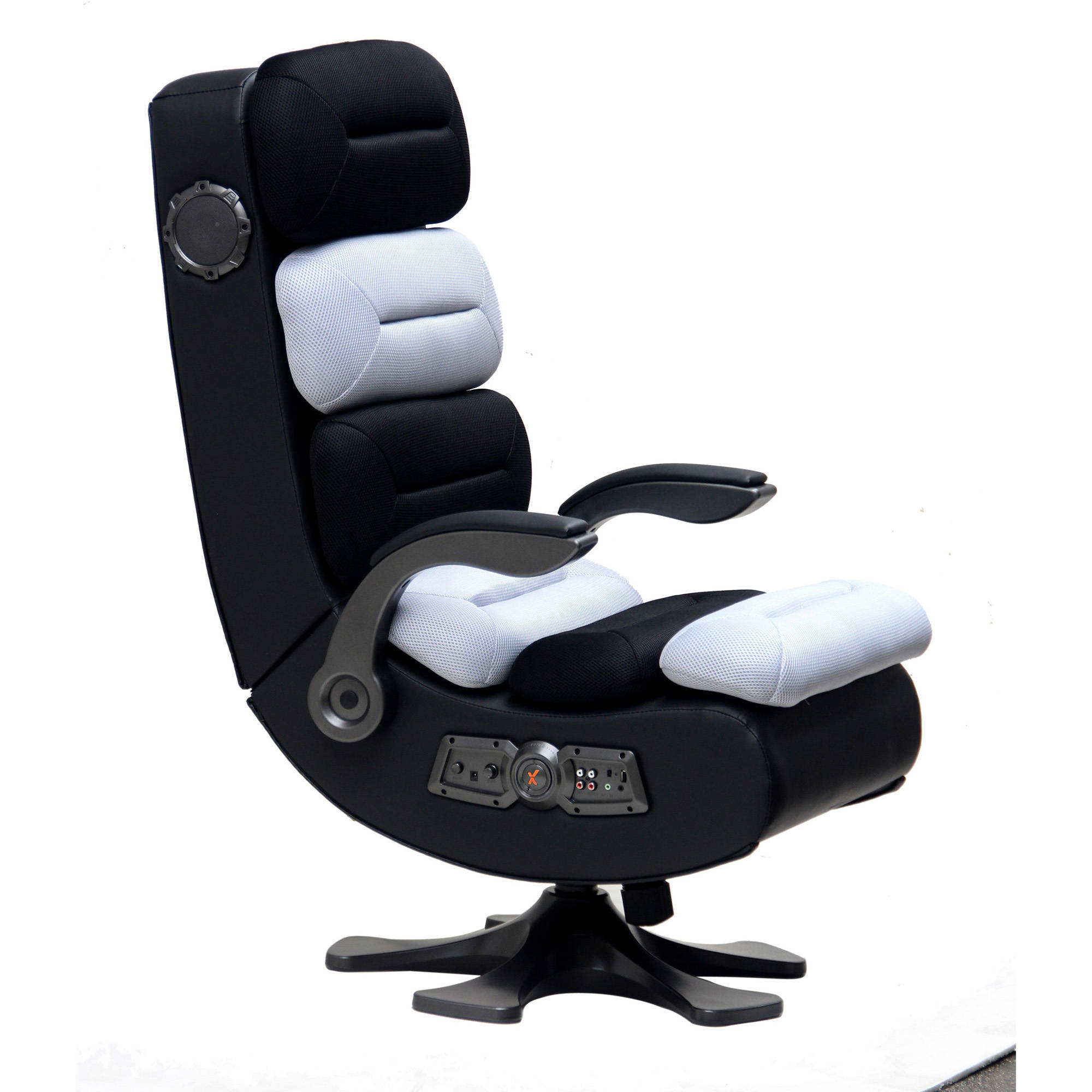X Rocker Pro Series II 2.1 Wireless Bluetooth Audio Chair, Black/Platinum