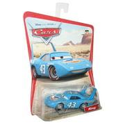Disney Pixar Cars The King Desert Scene Series 1 Die-Cast Mattel Blue Toy Car