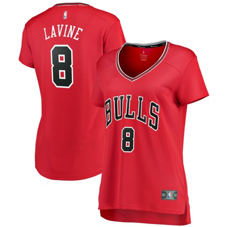new style 65dc8 dc477 Zach LaVine Chicago Bulls Fanatics Branded Women's Fast Break Jersey Red -  Icon Edition