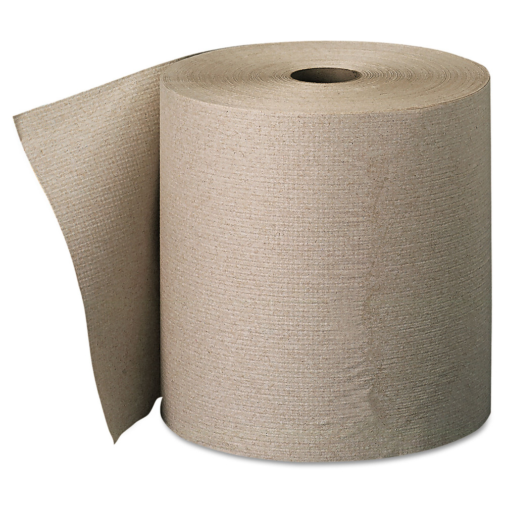 Georgia Pacific Professional 26301 Nonperforated Paper Towel Rolls, 7 7/8 X 800ft, Brown, 6 Rolls/carton