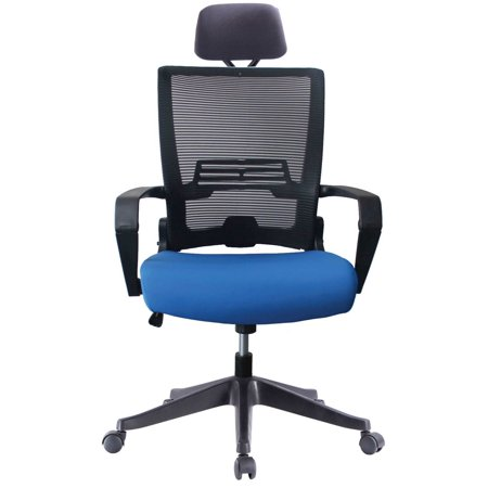Stupendous Impecgear Ergonomic Office Chair High Back Mesh With Adjustable Lumbar Support Headrest And Folded Mesh Back No Tools Need For Install Custom Color Dailytribune Chair Design For Home Dailytribuneorg