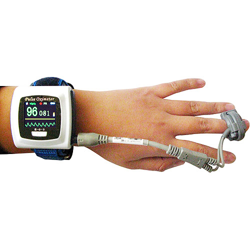 how to read choicemmed pulse oximeter
