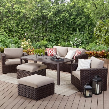 Better Homes & Gardens Harbor City 6-Piece Patio Leisure Dining Set