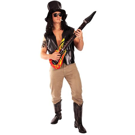 Slash Musician Adult Costume - One Size (Slash Costumes)