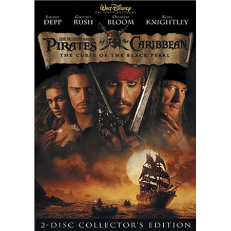 Pirates of the Caribbean: The Curse of the Black Pearl (DVD)