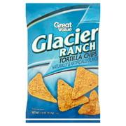 Great Value Glacier Ranch Tortilla Chips, 11 oz