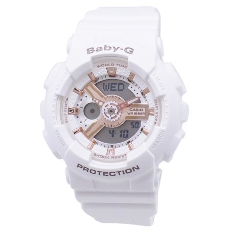 Casio Baby-G BA-110RG-7A BA110RG-7A World Time Shock Resistant Women's Watch Change Time Casio G-shock Watch